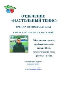 Настольный теннис_1